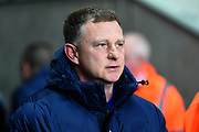Coventry City manager Mark Robins during the EFL Sky Bet League 2 match between Coventry City and Wycombe Wanderers at the Ricoh Arena, Coventry, England on 22 December 2017. Photo by Alan Franklin.