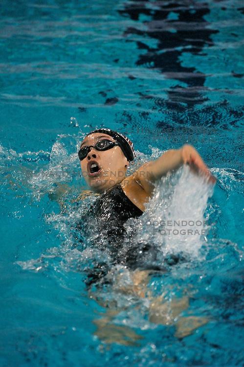08-04-2011 ZWEMMEN: SWIMCUP: EINDHOVEN<br /> Kimberley Albers<br /> &copy;2011 Ronald Hoogendoorn Photography