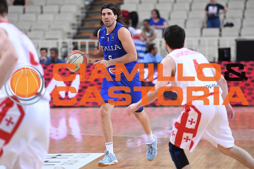 Ariel Filloy<br /> Nazionale Italiana Maschile Senior<br /> Torneo dell Acropolis<br /> Italia Georgia Italy Georgia<br /> FIP 2017<br /> Atene, 25/08/2017<br /> Foto M.Ceretti / Ciamillo - Castoria
