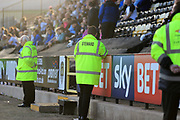Stewards during the EFL Sky Bet League 2 match between Notts County and Barnet at Meadow Lane, Nottingham, England on 14 October 2017. Photo by Mick Haynes.