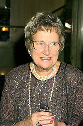 LADY HOWE at a ball in London on 20th October 2000.OIB 4