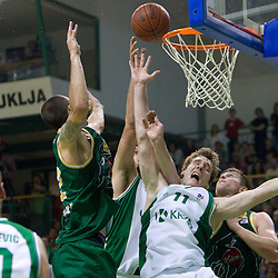 20110520: SLO, Basketball - Telemach league, KK Krka vs KK Union Olimpija