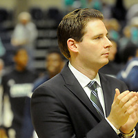 UNCW Men's Basketball Assistant Coach Casey Stanley is pictured before their game against St. Andrews Wednesday December 3, 2014 at Trask Coliseum in Wilmington, N.C. (Jason A. Frizzelle)