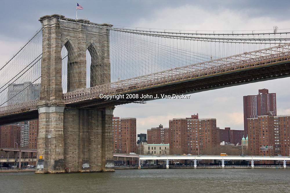 Brooklyn Bridge East Tower, New York City