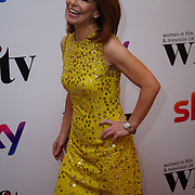 London Hilton, Park lane, England, UK. 1st December 2017. Kay Burley attends the Sky Women in Film and TV Awards.