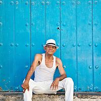 """Portrait of a man in Havana, Cuba (a """"Habanero"""")."""