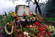 Memorial tidal wave victims, Lapahoehoe, Island of Hawaii<br />