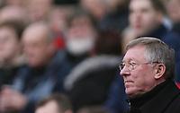 Photo: Paul Thomas.<br /> Manchester United v Charlton Athletic. The Barclays Premiership. 10/02/2007.<br /> <br /> Sir Alex Ferguson, Utd manager.