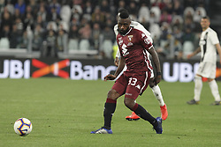 May 3, 2019 - Turin, Piedmont, Italy - Nicolas Nkoulou (Torino FC) during the Serie A football match between Juventus FC and Torino FC at Allianz Stadium on May 03, 2019 in Turin, Italy..Final results: 1-1. (Credit Image: © Massimiliano Ferraro/NurPhoto via ZUMA Press)