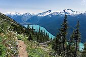 CANADA: Whistler Resort, Garibaldi PP, Joffre Lakes PP: Coast Range