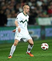 Fussball International, Nationalmannschaft   EURO 2012 Qualifikation, Slowenien - Italien          25.03.2011 Miso BRECKO (Slowenien)