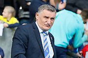 Blackburn Rovers Manager Tony Mowbray during the EFL Sky Bet Championship match between Blackburn Rovers and Leeds United at Ewood Park, Blackburn, England on 20 October 2018.
