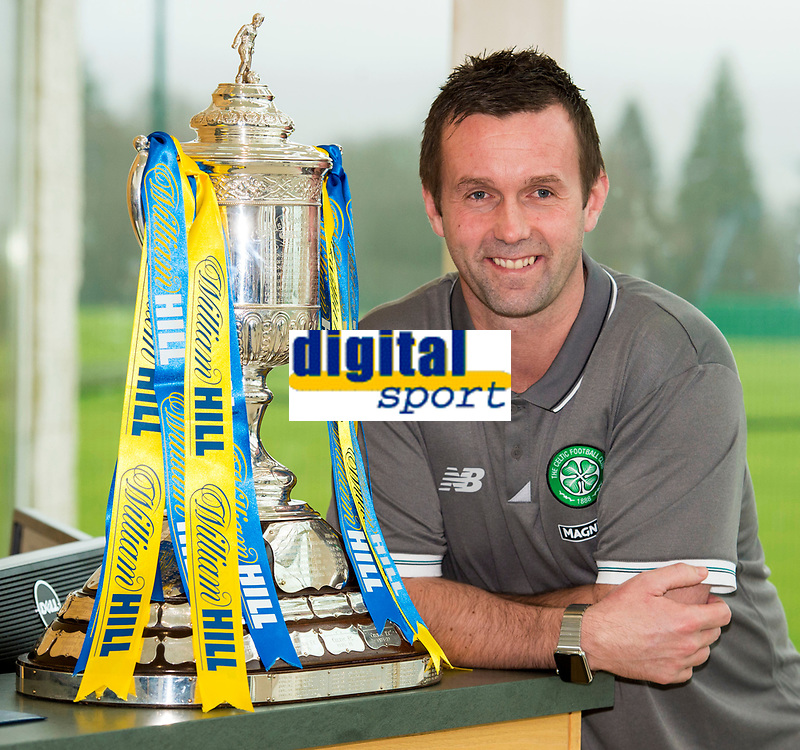 04/02/16   <br /> LENNOXTOWN - GLASGOW<br /> Celtic manager Ronny Deila previews his side's upcoming William Hill Scottish Cup Fifth round clash with East Kilbride