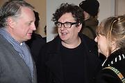 MARK WALLINGER, George Condo - private view . Simon Lee Gallery, 12 Berkeley Street, London, 10 February 2014