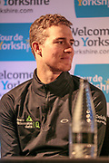 Scott Thwaites (Dimension Data) during the Tour de Yorkshire Press Conference at the National Railway Museum, York, United Kingdom on 27 April 2017. Photo by Mark P Doherty.