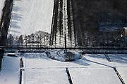 Nederland, Utrecht, Gemeente Baarn, 31-01-2010; naald of obelisk, aan begin van de Koningslaan richting paleis Soestdijk, .luchtfoto (toeslag), aerial photo (additional fee required).foto/photo Siebe Swart