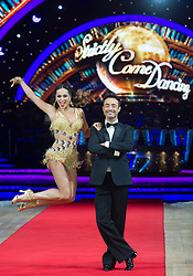 Joe McFadden and Katya Jones posing during photocall before the opening night of Strictly Come Dancing Tour 2018 at Arena Birmingham in Birmingham, UK. Picture date: Thursday 18 January, 2018. Photo credit: Katja Ogrin/ EMPICS Entertainment.