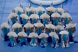 June 17, 2017 - Saint Petersburg, Russia - Perfomers perform during the opening ceremony prior to the FIFA Confederations Cup Russia 2017 Group A match between Russia and New Zealand at Saint Petersburg Stadium on June 17, 2017 in Saint Petersburg, Russia. (Credit Image: © Igor Russak/NurPhoto via ZUMA Press)