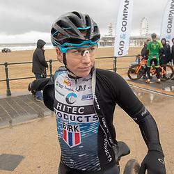 09-12-2018: Wielrennen: EK beachrace: Scheveningen<br />Nina Kessler