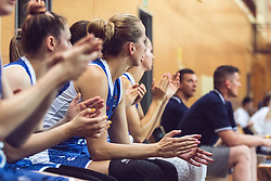 Slovakian team during Women's Basketball - Slovenia vs Slovaska on the 14th of June 2019, Dvorana Poden, Skofja Loka, Slovenia. Photo by Matic Ritonja / Sportida