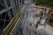 Pains_MG, Brasil...Pedreiras de producao de cal em Pains, Minas Gerais...Production of quicklime quarries in Pains, Minas Gerais...Foto: MARCUS DESIMONI / NITRO...