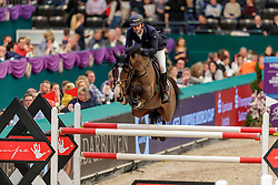TWOMEY Billy (IRL), Lady Lou<br /> Leipzig - Partner Pferd 2020<br /> Longines FEI Jumping World Cup™Qualifikations-Prüfung<br /> Springprfg. nach Fehlern und Zeit, international<br /> 17. Januar 2020<br /> © www.sportfotos-lafrentz.de/Stefan Lafrentz
