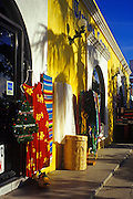 Image of storefronts in downtown Cabo San Lucas, Baja California Sur, Mexico