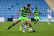Forest Green Rovers Omar Bugiel(11) runs forward during the EFL Sky Bet League 2 match between Colchester United and Forest Green Rovers at the Weston Homes Community Stadium, Colchester, England on 26 August 2017. Photo by Shane Healey.