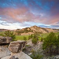 missouri river breaks, bull wacker canyon