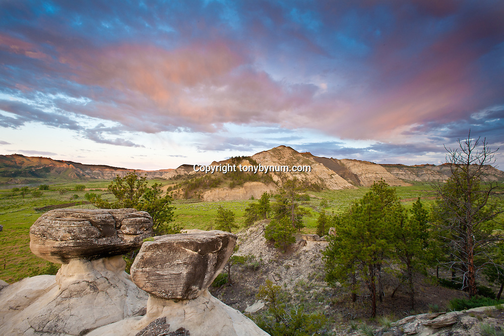 missouri river breaks, bull wacker canyon