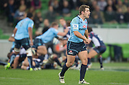 Bernard Foley (Waratahs) during the Round 15 match of the 2013 Super Rugby Championship between RaboDirect Rebels vs HSBC Waratahs at AAMI Park, Melbourne, Victoria, Australia. 24/05/0213. Photo By Lucas Wroe