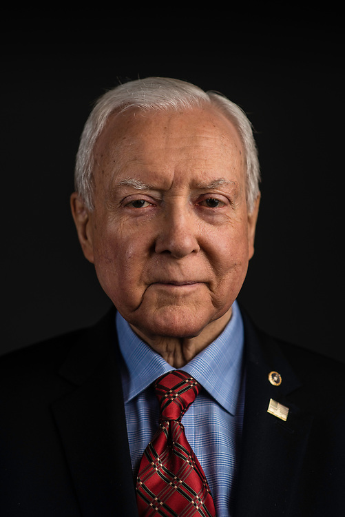WASHINGTON, DC -- 12/21/17 -- Senator Orrin Hatch is the senior senator from Utah, Chairman of the Senate Finance Committee and President pro tempore of the United States Senate..…by André Chung #_AC26993