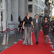 NLD/Utrecht/20110927 - 31 ste NFF-Uitreiking Lezen en Schrijven Film Awards door Prinses Laurentien, Prinses Laurentien