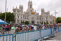 The race gets underway at La Madrid Challenge by La Vuelta 2019 - Stage 2, a 98.6 km road race in Madrid, Spain on September 15, 2019. Photo by Sean Robinson/velofocus.com