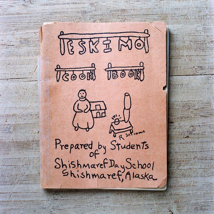 SHISHMAREF, ALASKA - 2010: The Eskimo Cook Book.