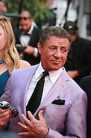Sylvester Stallone at the The Expendables 3 red carpet at the 67th Cannes Film Festival France. Sunday 18th May 2014 in Cannes Film Festival, France.