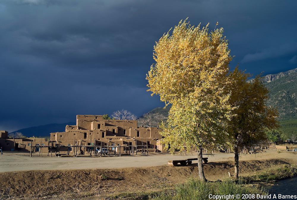 Taos Peublo, New Mexico, USA