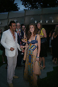 Marcus Ketty and Francesca Versace. The Serpentine Summer party co-hosted by Jimmy Choo. The Serpentine Gallery. 30 June 2005. ONE TIME USE ONLY - DO NOT ARCHIVE  © Copyright Photograph by Dafydd Jones 66 Stockwell Park Rd. London SW9 0DA Tel 020 7733 0108 www.dafjones.com