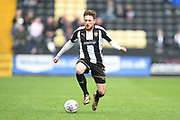 Notts County defender Matt Tootle (2) during the EFL Sky Bet League 2 match between Notts County and Coventry City at Meadow Lane, Nottingham, England on 7 April 2018. Picture by Jon Hobley.