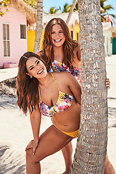 "Ashley Graham proudly shows off her voluptuous figure alongside her sister in the new Swimsuits For All summer collection. The 31-year-old plus-size model is joined by her younger sister Abigail in the summery beach photoshoot, where the pair are seen cavorting together in the surf. The new capsule collection celebrates the 'immeasurable relationship, unconditional support, and encouragement that is shared among Ashley and her sister Abigail,' according to the brand and the campaign was shot on the beaches of Punta Cana, in the Dominican Republic. The campaign captures their sisterly bond through a series of ""then and now"" family photos, traveling back in time to their adolescence. Ashley said: 'Despite our six-year age difference and busy lifestyles, my little sister and I have always been strong presences in each other's lives. We've shared countless memories together and going through our childhood photos was a trip down memory lane. 'Abigail has always been my rock, and I was honored to have her by my side during this photoshoot. Plus, she's a new mom and has never looked hotter in a swimsuit!' Abigail was also thrilled to model alongside Ashley. 'I love to support Ashley in everything she does, especially when it comes to promoting her message of beauty beyond size. As children, Ashley and I created a very tight bond that we have been able to carry over to adulthood. 'Every summer, we would go on road trips together to different states. I'll never forget Ashley getting stung by jellyfish in Florida. It was hilarious! I'll forever be grateful for the sisterly love we have for one another and will never forget the special moments we shared during the photoshoot in Punta Cana,"" says Abigail. The nine-piece swim collection features mesh panels, netting, exotic florals and animal prints. Styles to highlight include the Phenom Triangle Monkini, Red Orange Heiress High Waist Bikini, and Gala One Shoulder One Piece. Retailing under $104, the As"