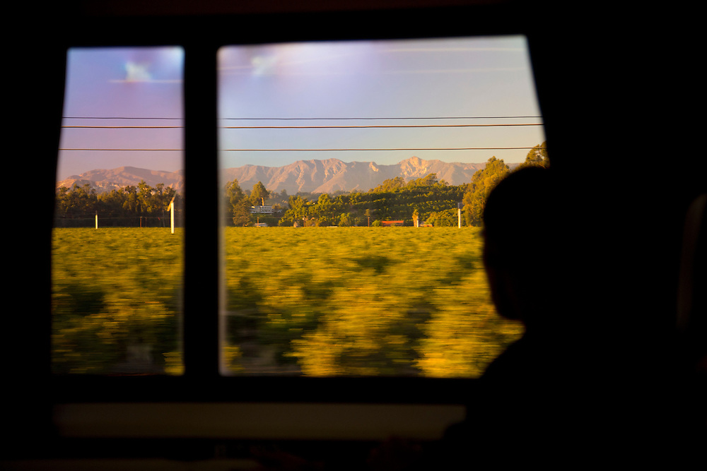 California Wanderlust, travel photos from Los Angeles via the Pacific Surfliner train up the Pacific coast to Santa Barbara before continuing North on the CA-1 highway.