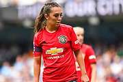Manchester United Women midfielder Katie Zelem (10) during the FA Women's Super League match between Manchester City Women and Manchester United Women at the Sport City Academy Stadium, Manchester, United Kingdom on 7 September 2019.