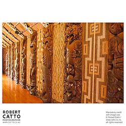 Treaty Grounds, Waitangi, Northland, New Zealand.<br />