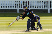 2005 Totesport League, Middlesex Crusader vs Hampshire Hawks at Lords, ENGLAND, 15.05.2005, Kevin Pietersen get's under the ball, to give Andrew Strauss a catch. .Photo  Peter Spurrier. .email images@intersport-images...