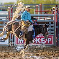 Madison County Fair Ranch Saddle Bronc Riding