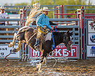 Madison County Fair Ranch Saddle Bronc Riding