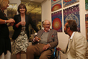 Emily Mortimer and Sir John Mortimer, Private view at the Stateoftheart.co.uk. The State of the Art Gallery, 9 Portobello Green Arcade. 27 June 2006. ONE TIME USE ONLY - DO NOT ARCHIVE  © Copyright Photograph by Dafydd Jones 66 Stockwell Park Rd. London SW9 0DA Tel 020 7733 0108 www.dafjones.com
