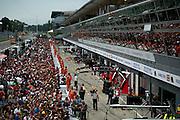 September 4-7, 2014 : Italian Formula One Grand Prix - Fan pit walk