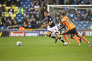 Shaun Hutchinson of Millwall during the EFL Sky Bet Championship match between Millwall and Reading at The Den, London, England on 26 September 2017. Photo by Toyin Oshodi.