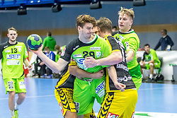 10.12.2017, BSFZ Suedstadt, Maria Enzersdorf, AUT, HLA, SG INSIGNIS Handball WESTWIEN vs Bregenz Handball, Hauptrunde, 16. Runde, im Bild Julian Pratschner (SG INSIGNIS Handball WESTWIEN) // during Handball League Austria 16 th round match between SG INSIGNIS Handball WESTWIEN and Bregenz Handball at the BSFZ Suedstadt, Maria Enzersdorf, Austria on 2017/12/10, EXPA Pictures © 2017, PhotoCredit: EXPA/ Sebastian Pucher